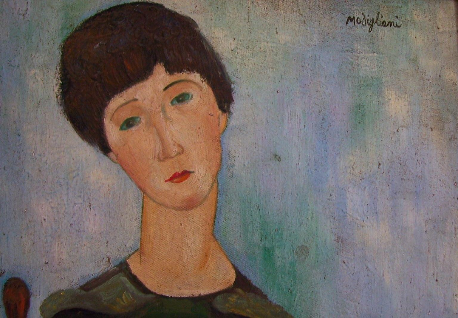 Amedeo Modigliani: Expressionist / Modern Painter