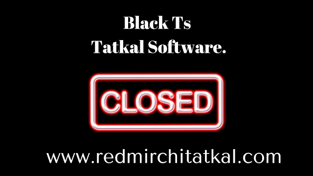 BlackTs Tatkal Software