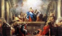 Day of Pentecost in Jerusalem