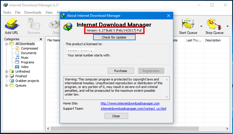 internet download manager 6.31 serial key free
