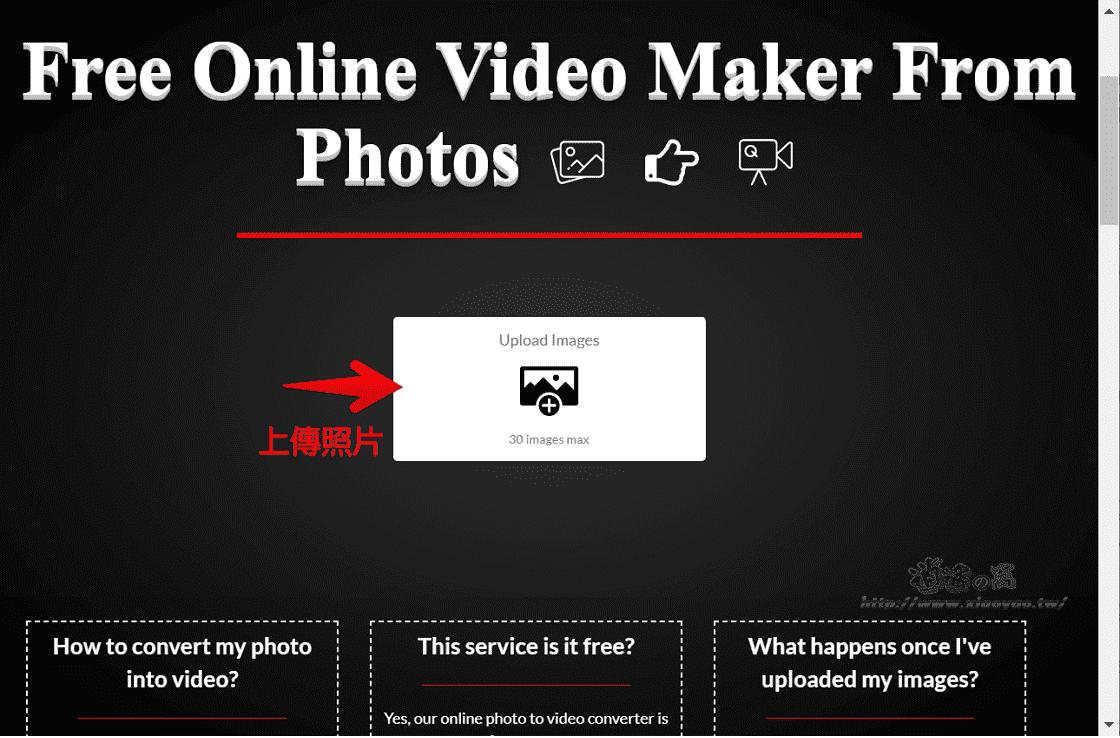 Convert2video 免費線上影片製作工具