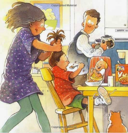 sample page #2 from STEPHANIE'S PONYTAIL by Robert Munsch