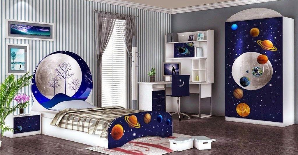 Desain Kamar Tidur Anak Laki-Laki Keren