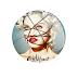 Madonna - Botton (#MDN001) - 3,8 cm