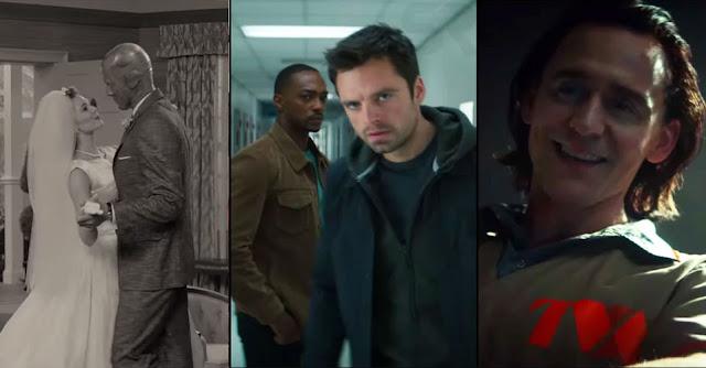 Falcon & Winter Soldier, WandaVision & Loki Trailer Reveals Marvel Disney
