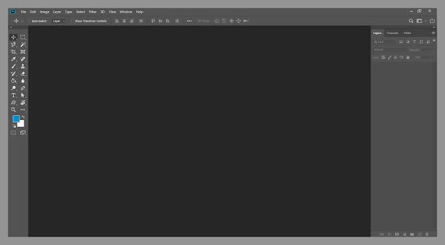 What is canvas size in Photoshop cc 2020