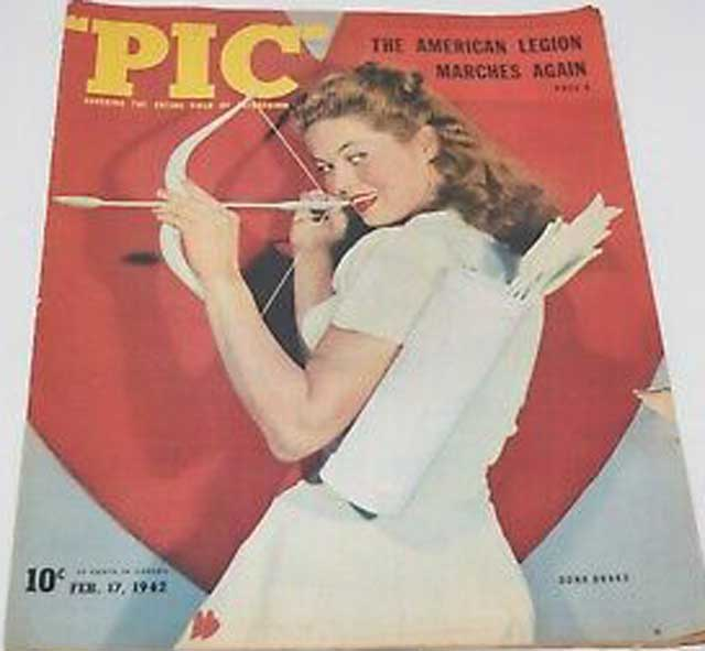 Pic magazine featuring Dona Drake, 17 February 1942 worldwartwo.filminspector.com