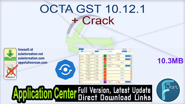 OCTA GST 10.12.1 + Crack