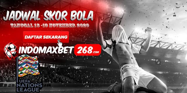 Jadwal Pertandingan Sepakbola Hari Ini, Rabu Tgl 18 - 19 November 2020