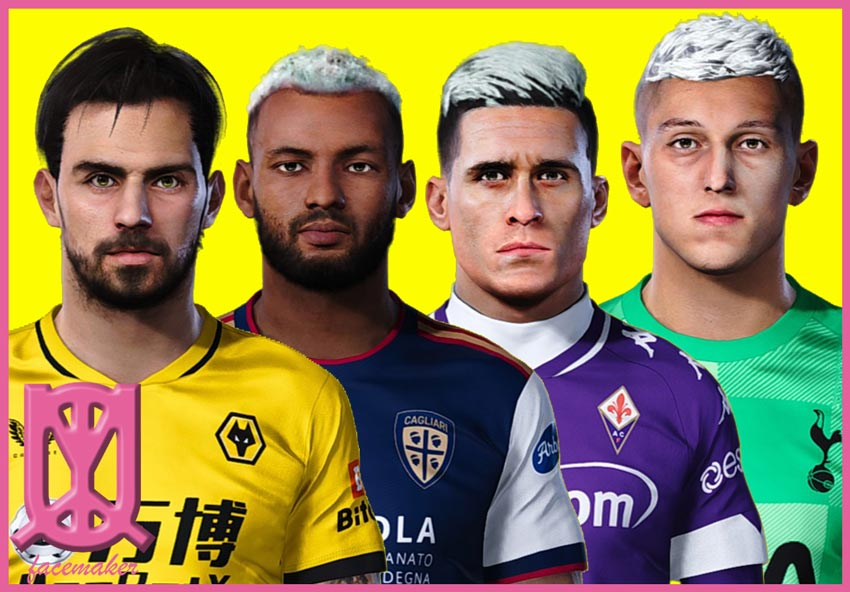 Facepack Restyle 2 For eFootball PES 2021