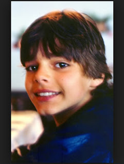 ricky martin around 10 years old