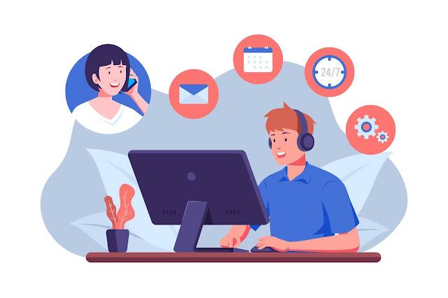 Customer Service Provider Internet Rumah