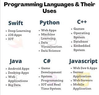 Programming Languages & Their Uses