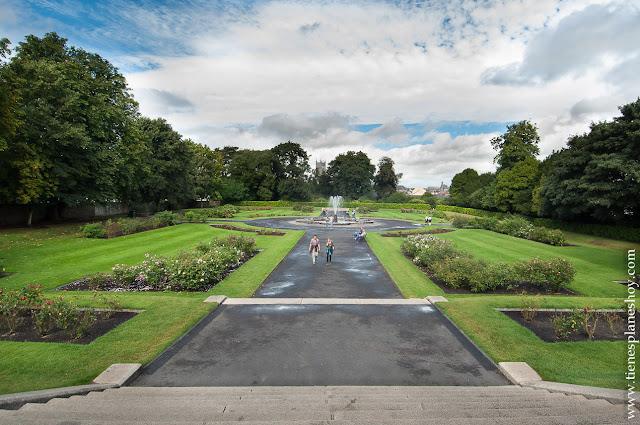 Jardines Castillo Kilkenny Irlanda