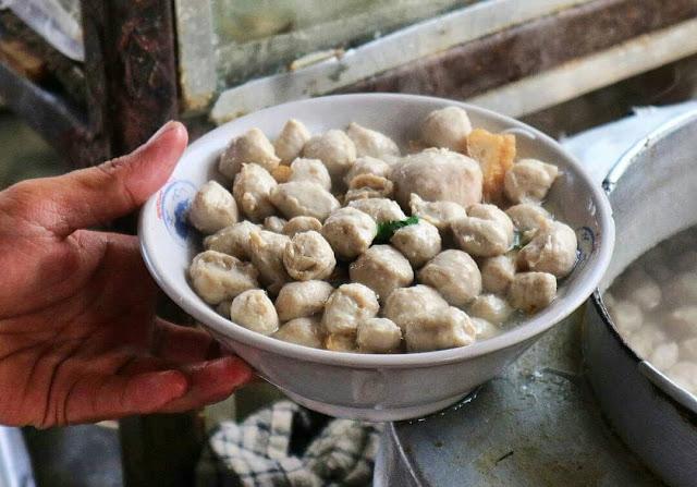 Kuliner Makanan Khas Magelang - Bakso Kerikil Magelang