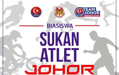 Permohonan Biasiswa Sukan Atlet Johor 2019 Online
