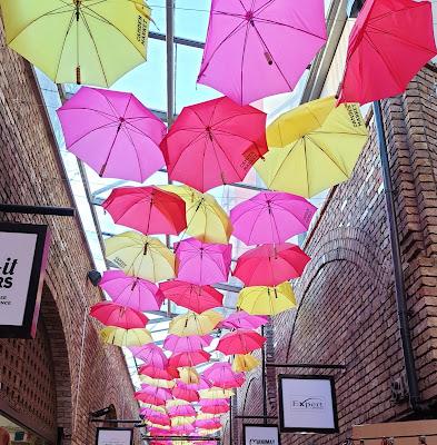Camden Market Umbrella Installation