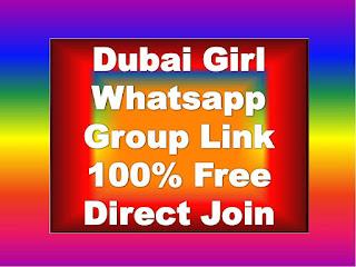 Dubai Girl Whatsapp Group Link Join 2020 is me hum aapko bata rahe hain kis tarah se aap whatsapp group link for girls join kar sakte ho.Dubai Girls. Dubai Girls Whatsapp Group Links