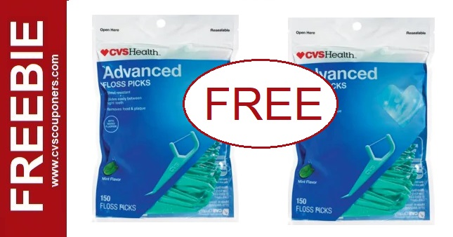 FREE CVS Health Floss Picks