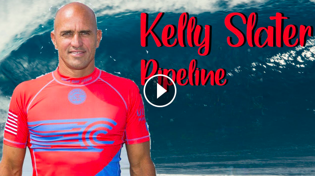 Kelly Slater comes out of hiding