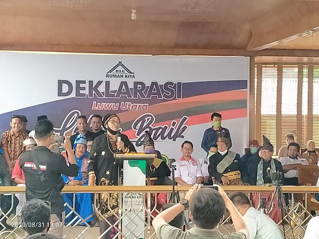 Sejumlah Tokoh Adat Luwu Utara Siap Dukung Thahar Rum-Rahmat Laguni