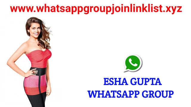 Esha Gupta Fans Whatsapp Group Join Link List