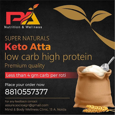 Low carb and High Protein Atta by Dr Pallavi
