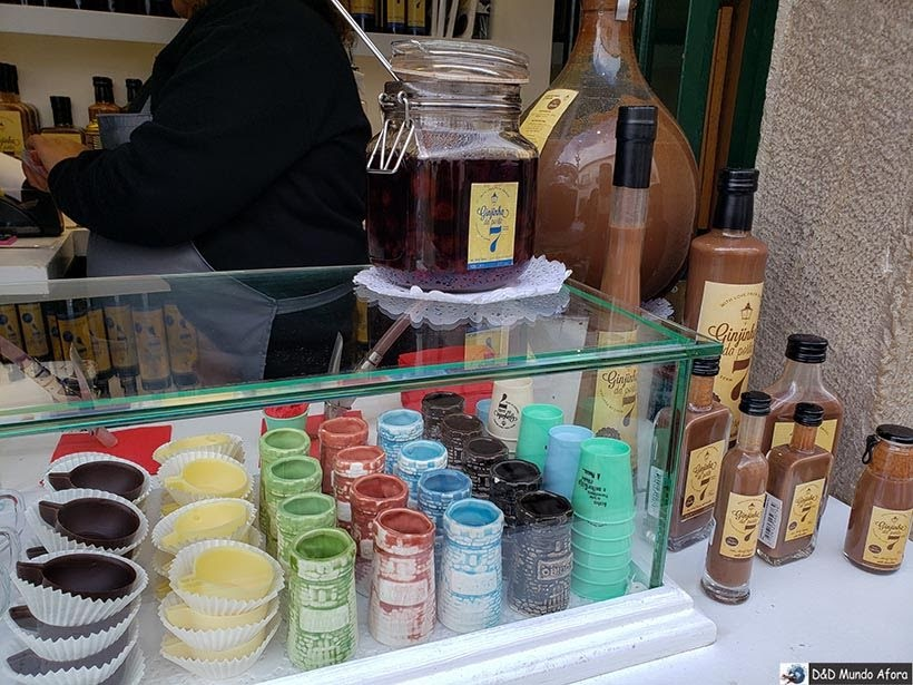 Tradicional bebida de Óbidos: Ginja