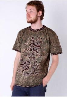 Model Kaos Batik Modern