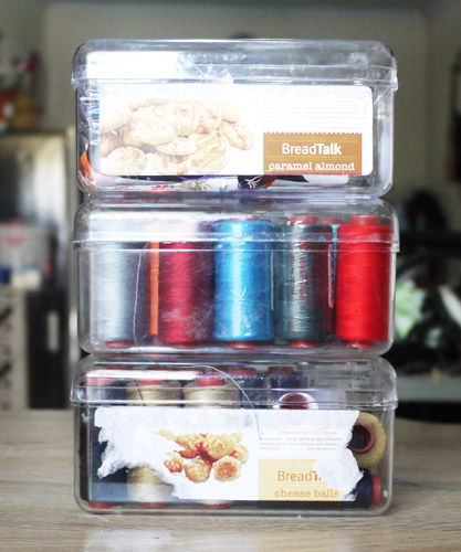How I Store Sewing Thread