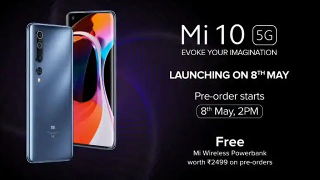 Mi 10 5G With 108-megapixel Dslr Camera, E3 AMOLED display Launched Today