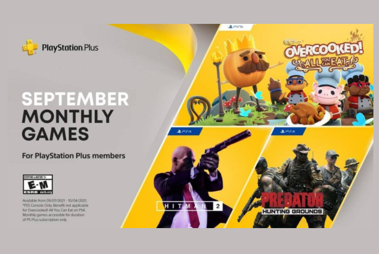 PS Plus September 2021 Games PS4, PS5