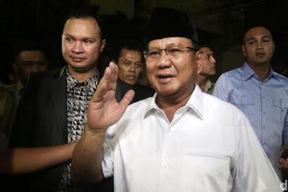 Koalisi Atawa Oposisi? Prabowo Hana Lom Na Jawaban Pasti