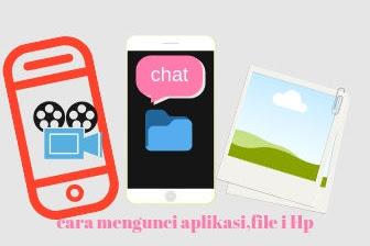 Cara mengunci aplikasi file vidio foto rahasia di Hp