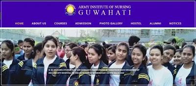 Army Institute of Nursing (AIN): Guwahati B Sc (Nursing) Degree Course Admission 2021