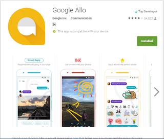 a messaging app by google