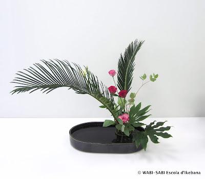 Ikebana-moribana-freestyle-escola-wabisabi-flors