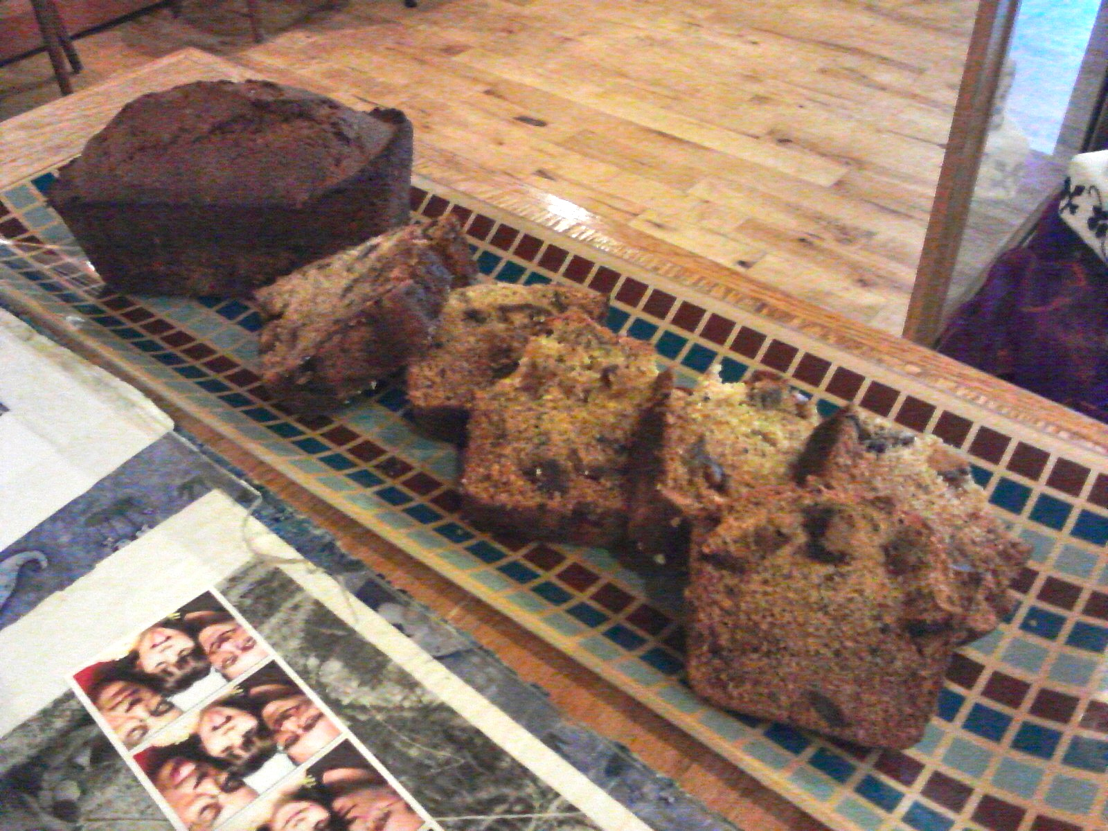 Date Nut Bread Made From Cake Mix
