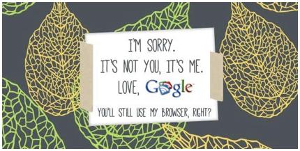 Avertisment Google