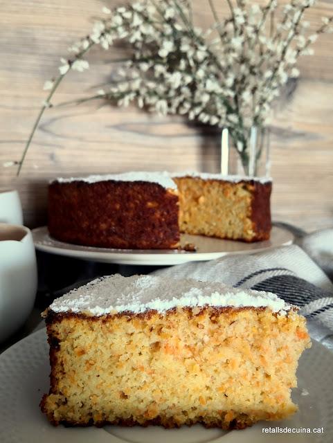 Torta di Carote o Coca de pastanaga - Repte Cuina Regional Italiana (CRI)