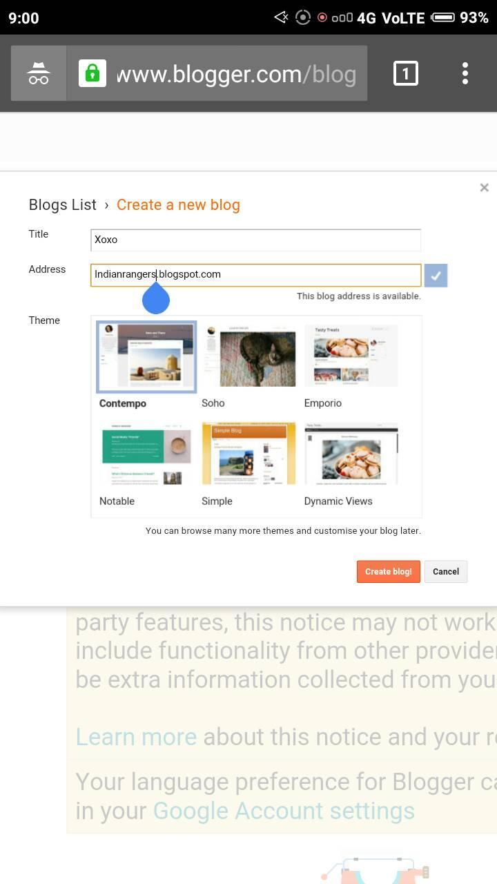How to setup blogger blog for free? Tutorial   Blogger   WordPress   Blogger Help Series Part 2