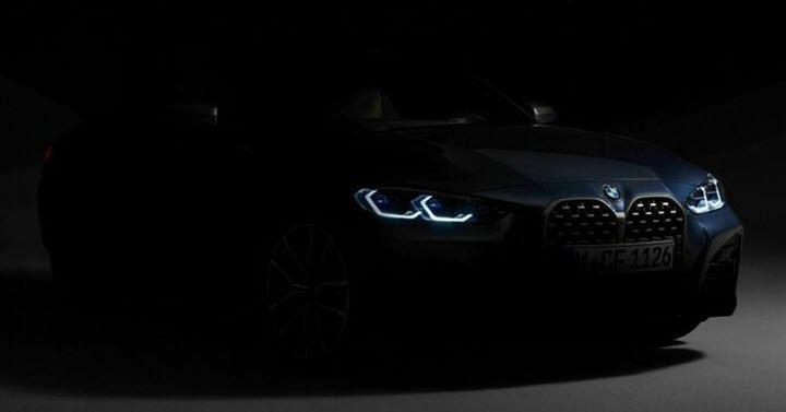 BMW series 4 sắp ra mắt với lưới tản nhiệt 'khổng lồ'