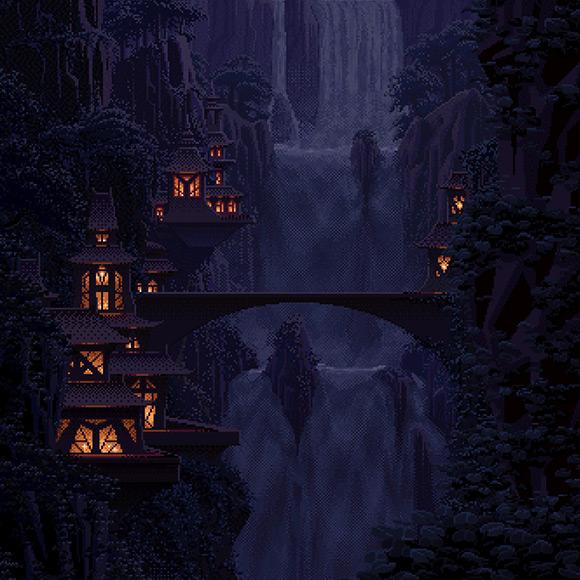 Elvish Falls Wallpaper Engine