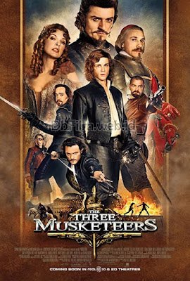 Sinopsis film The Three Musketeers (2011)