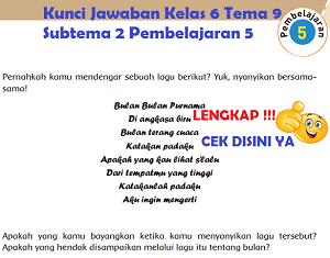 Kunci Jawaban Kelas 6 Tema 9 Subtema 2 Pembelajaran 5 www.simplenews.me