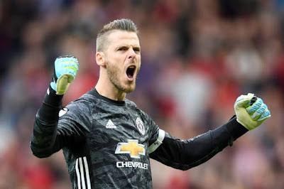 David De Gea becomes United highest paid player