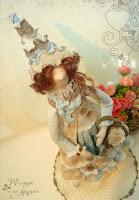 кукла в стиле бохо шик