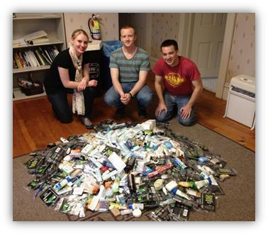 baldwin wallace university honors students collect good things in