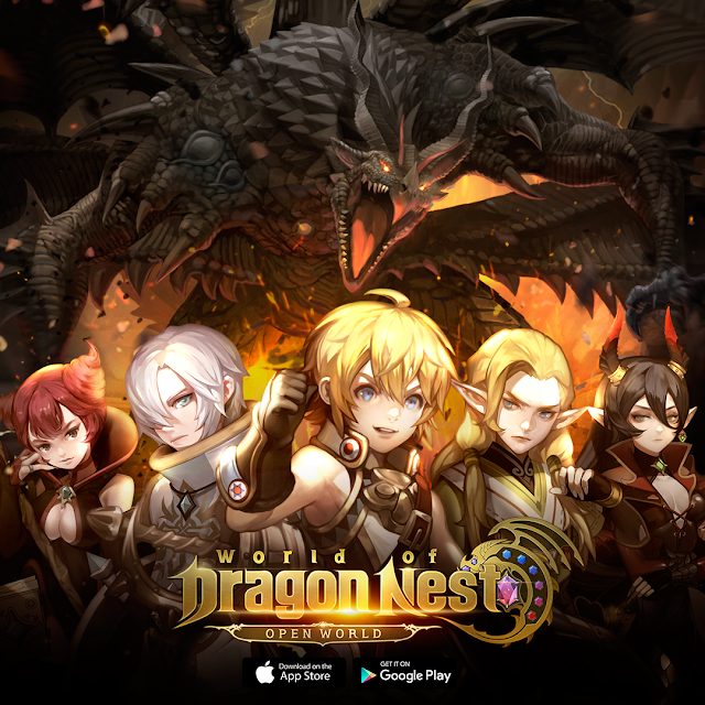 [Press Release] World of Dragon Nest (WOD)​ now officially launched for iOS & Android in 5 countries!