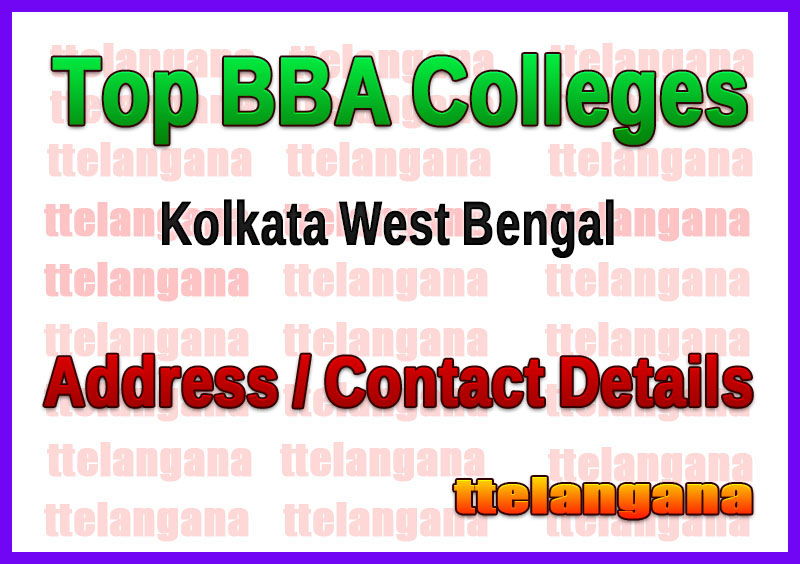 Top BBA Colleges in Kolkata West Bengal
